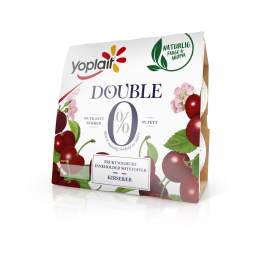 Yoplait Double Kirsebær 4x125g