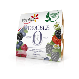 Yoplait Double Skogsbær 4x125g
