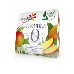 Yoplait Double Mango 4x125g