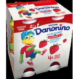 Danonino Drikke Jordbær 4x100g