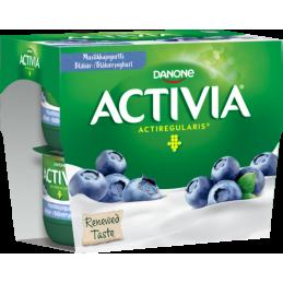 Activia Yoghurt Blåbær 4x125g