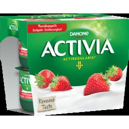 Activia Yoghurt Jordbær 4x125g