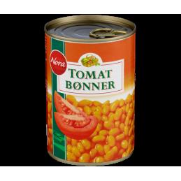 Nora Tomatbønner 425g