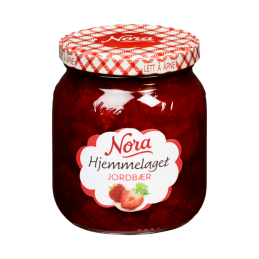 Jordbærsyltetøy 400g Nora...