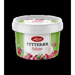 Tyttebærsyltetøy 600g Lerum