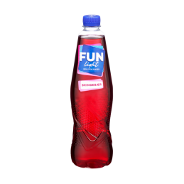 Fun Light Bringebær 0,8l