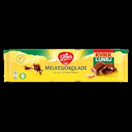 Melkesjokolade med Kvikk...