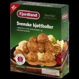 Svenske kjøttboller med...