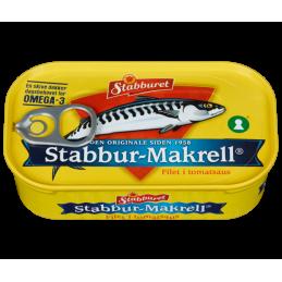 Makrell i Tomat 110g Stabburet