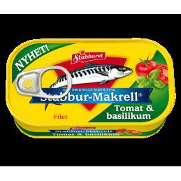 Makrell i Tomat med...