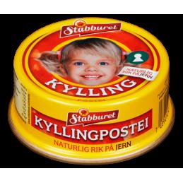 Stabburet Kyllingpostei 100g