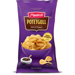Potetgull Salt&Pepper 250g...