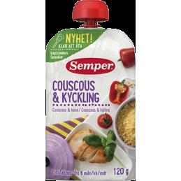 Couscous & Kylling Semper,...