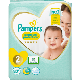Pampers Premium Protection 2